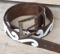 handmade belt from Kenya